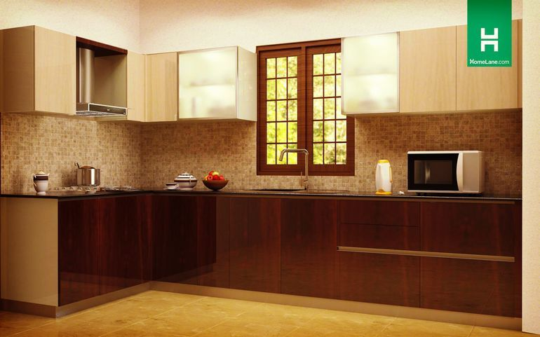 Buy Phoenix Minimalist L-Shaped Kitchen Online, Best Price ...