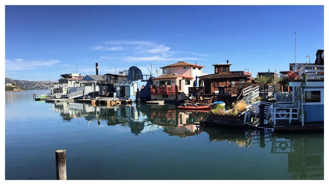 Love those floating houses of Sausalito