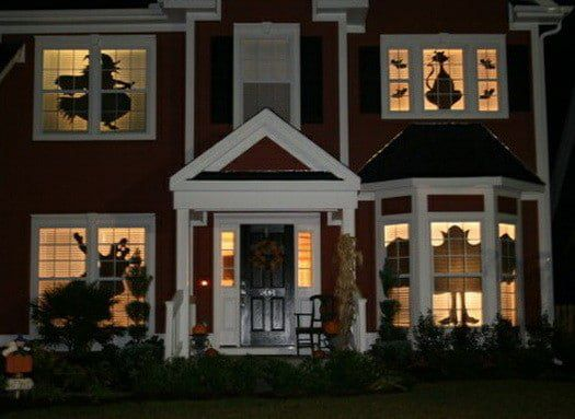 Scary Outdoor Halloween Decorations And Silhouettes_28 Halloween - outdoor halloween decorations