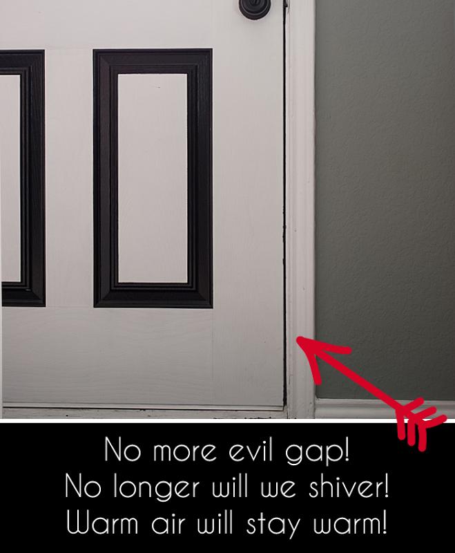 Fix door drafts #drafty & Mind The Gap: Weatherproofing Doors \u0026 Windows | Door draft Doors ...