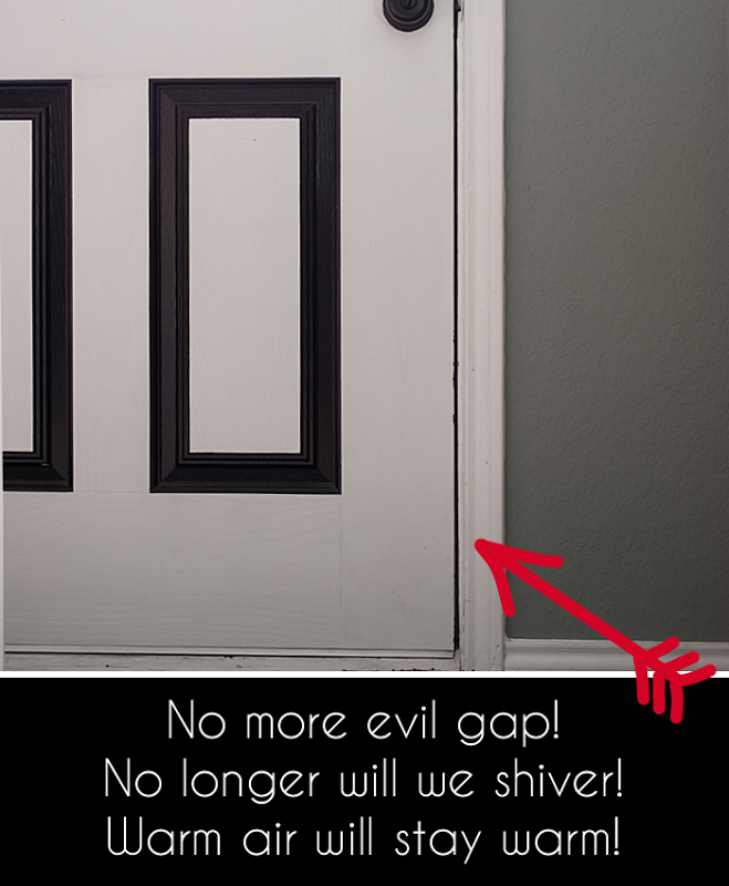 mind the gap weatherproofing doors windows. Black Bedroom Furniture Sets. Home Design Ideas