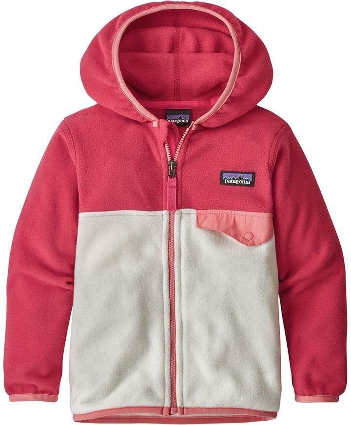 0eba19a53f4e Patagonia Micro D Snap-T Fleece Jacket - Toddler Girls
