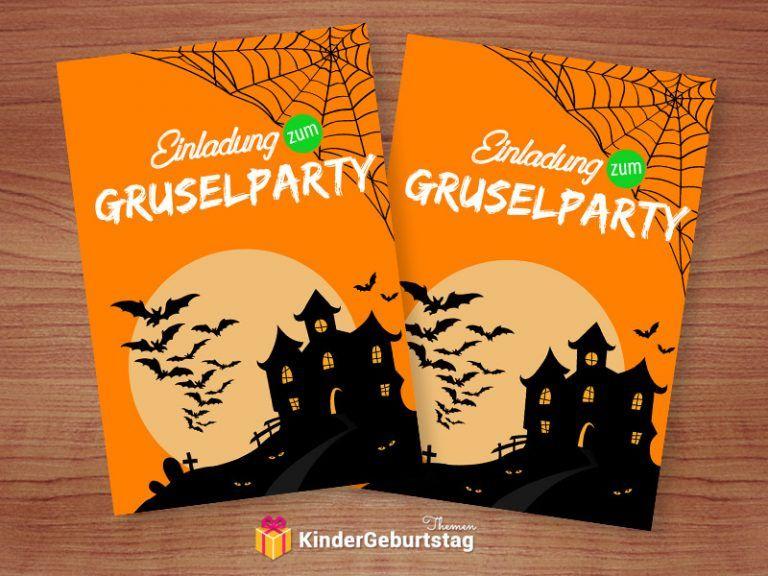 Einladung Zur Gruselparty Vorlagen Zum Ausdrucken Kostenlos Halloween Einladung Halloween Kindergeburtstag Einladung Vorlage Kostenlos