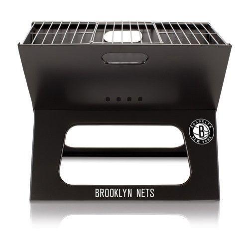 Brooklyn Nets X-Grill Folding Portable BBQ Grill w/Digital Print