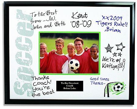 Coach Autograph Picture Frame Coach Team Autograph Photo Frame