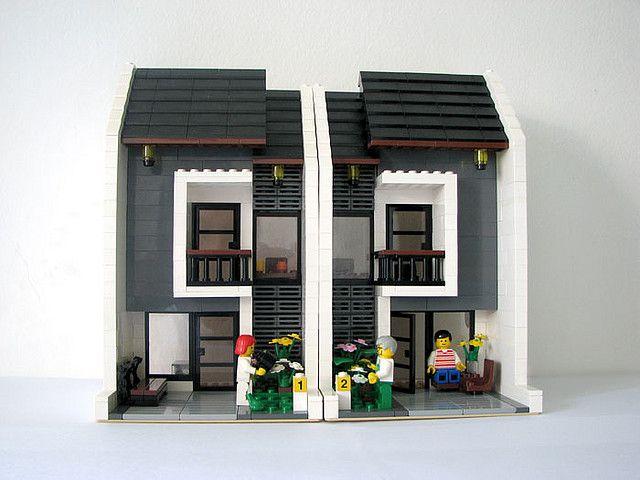 lego minimalist house lego lego ideen und lego haus. Black Bedroom Furniture Sets. Home Design Ideas
