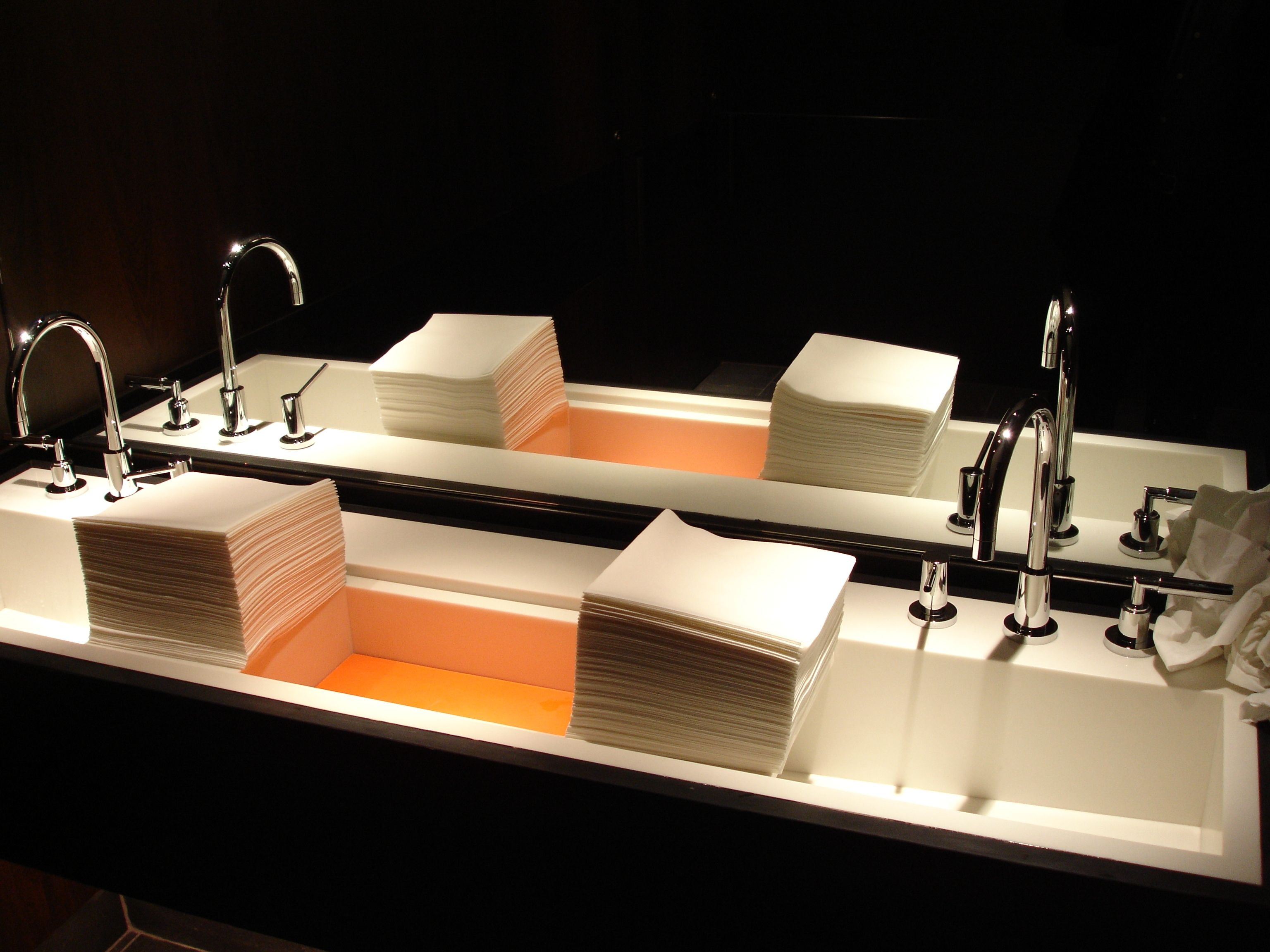 Custom Corian Sink Fabricated By Counter Production