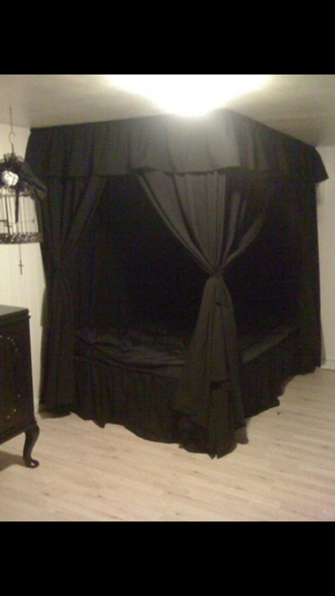 Pin by Tracy LeeAnn on Dream Goth Bedroom Goth home