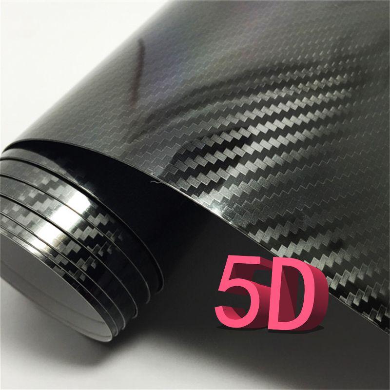 3D Waterproof Carbon Fiber Vinyl Car Wrap Sheet Roll Film Sticker Decal Paper