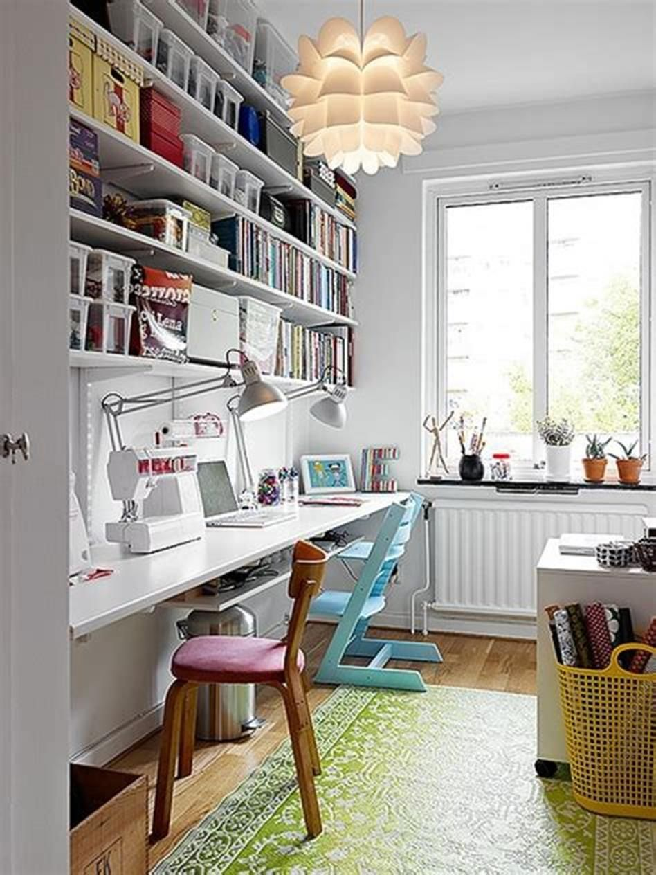 10x10 Room Layout Craft: 50 Most Popular Small Craft And Sewing Room Design Ideas