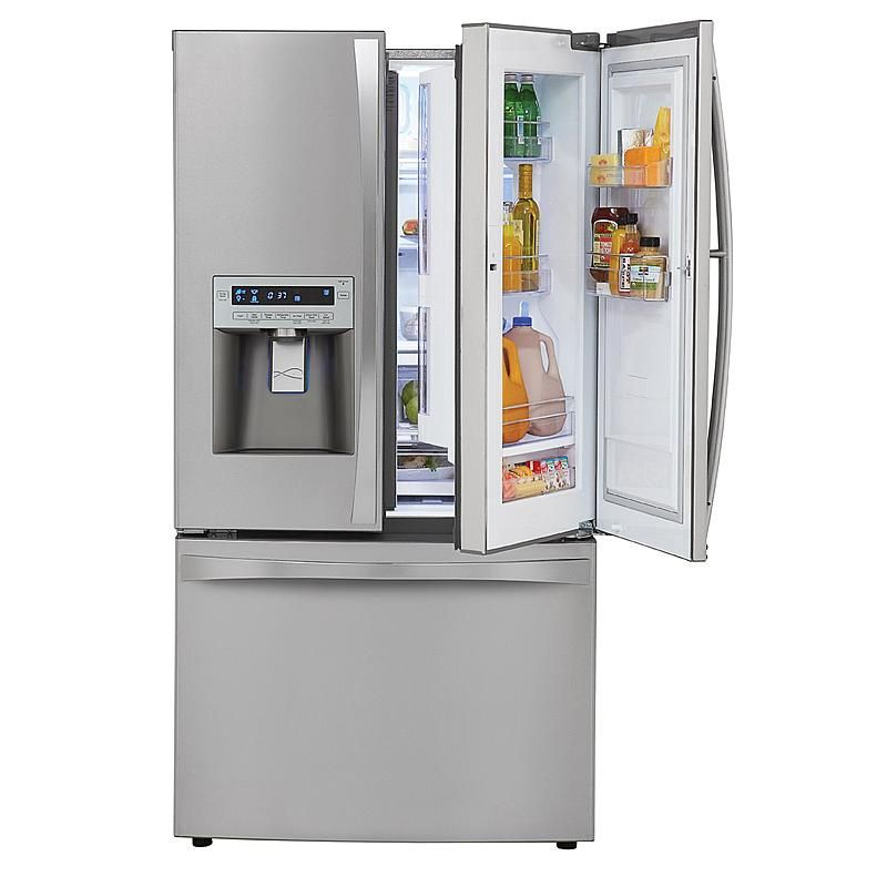 Kenmore Elite 72063 31 Cu Ft Grab N Go French Door Bottom Freezer Refrigerator Stainless Steel Lg French Door Refrigerator French Door Bottom Freezer French Door Bottom Freezer Refrigerator