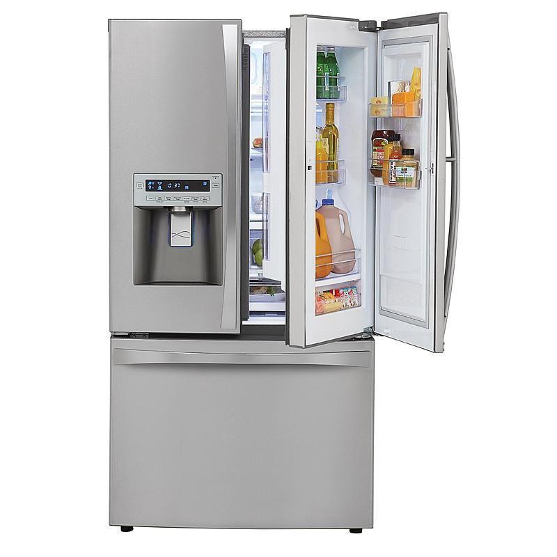 Kenmore Elite 72063 31 Cu Ft Grab N Go French Door Bottom Freezer Refrigerator Stainless Steel Lg French Door Refrigerator French Door Bottom Freezer French Door Bottom Freezer Refrigerator