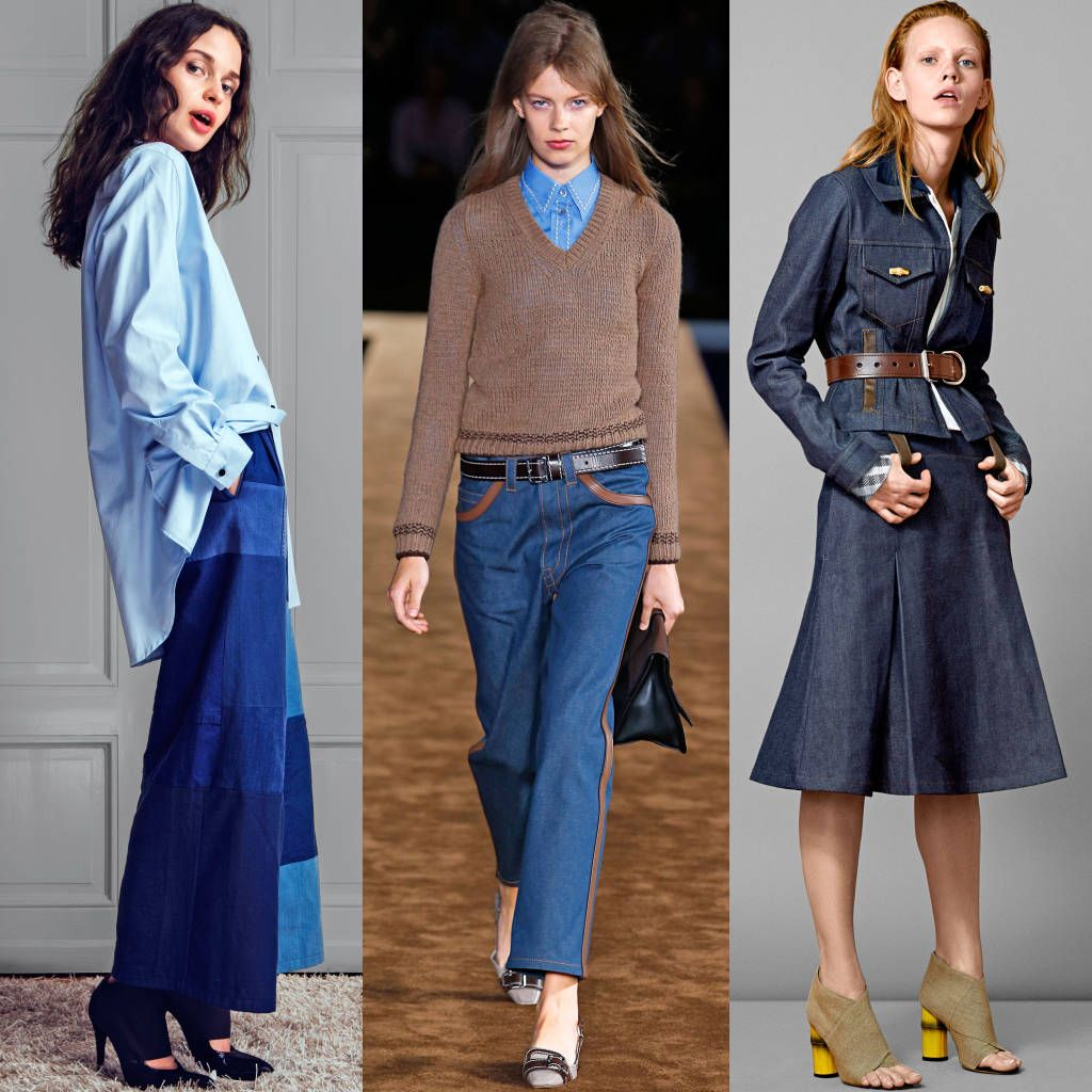 Laura Brown confesses her love of denim this fall, read her take on the trend here: