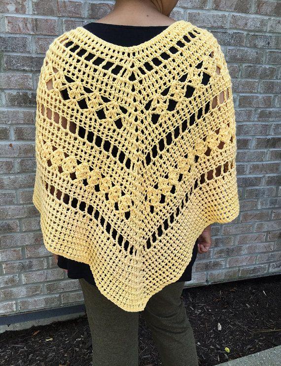 Multi Pattern Crochet Poncho Pattern Crochet Poncho Pattern