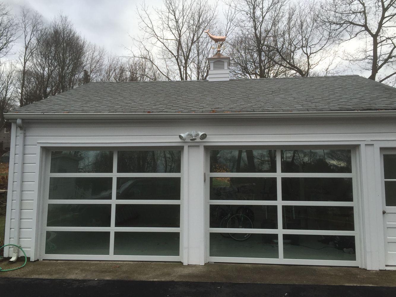 Wayne Dalton 8x7 Glass Garage Doors Green Tint Garage Doors Garage Door Installation Glass Garage Door