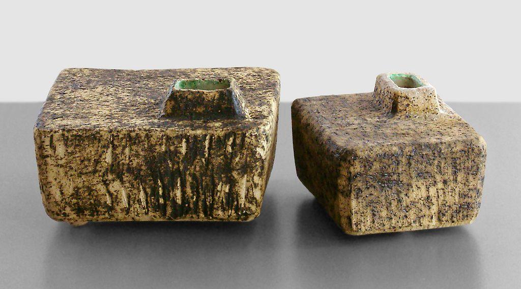 Chimney vases in Ikebana style by Pieter Groeneveldt