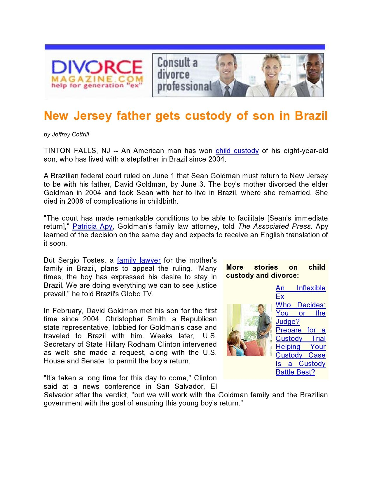 Scheidung in Ontario