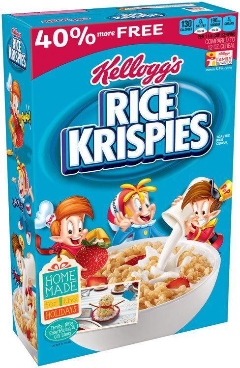 Kellogg S Rice Krispies Cereal Kelloggs Rice Krispies Rice