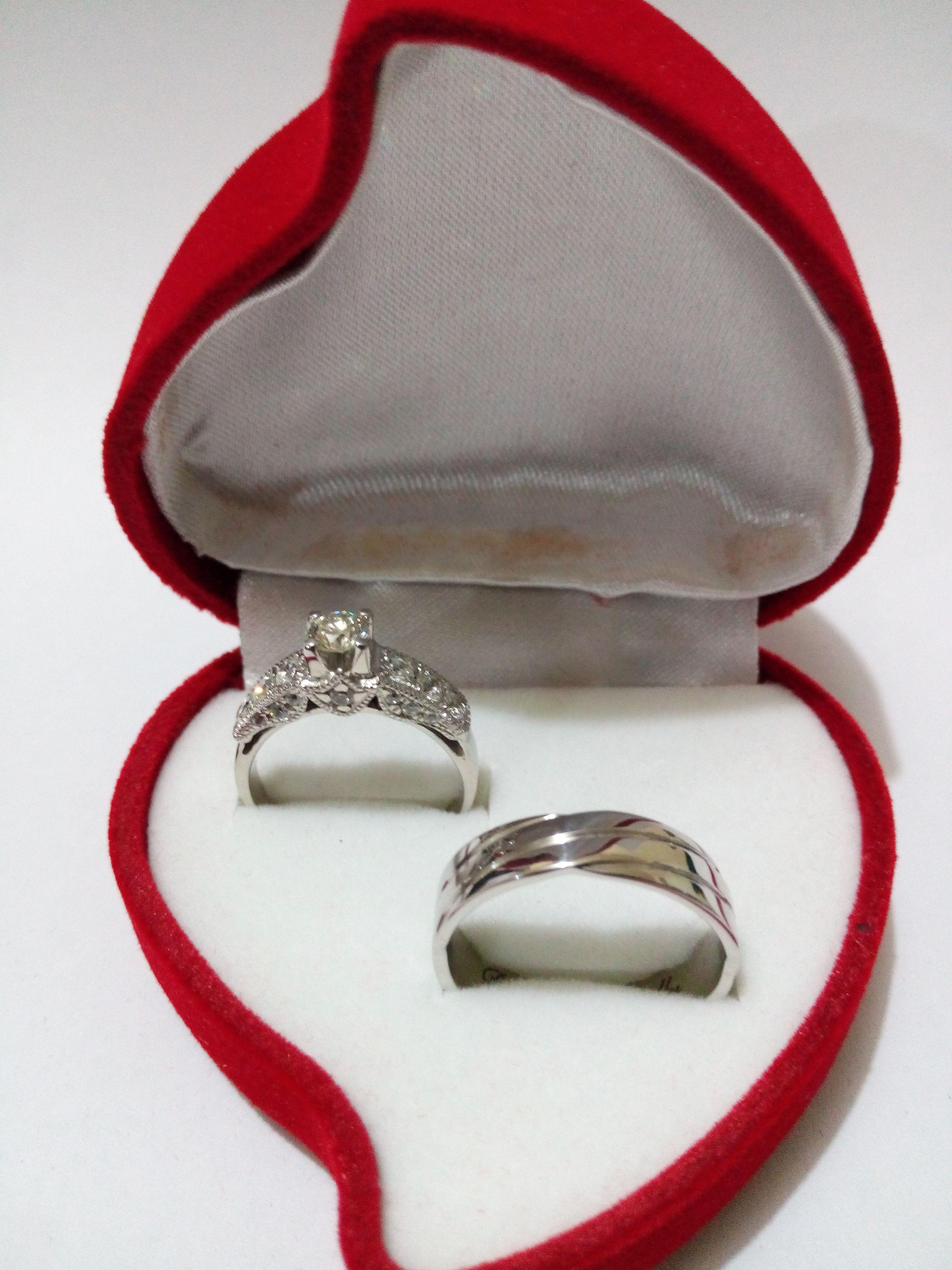 Cincin Kawin Platinum Emas Putih Cincindepokcom Nikah Di Couple Tunangan Cr 2 Amp