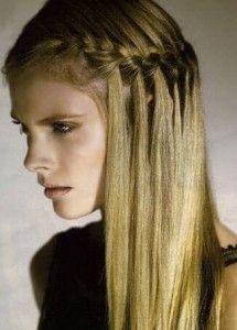 Peinados Para Pelos Largos Trenzado De Lado Hair Peinados