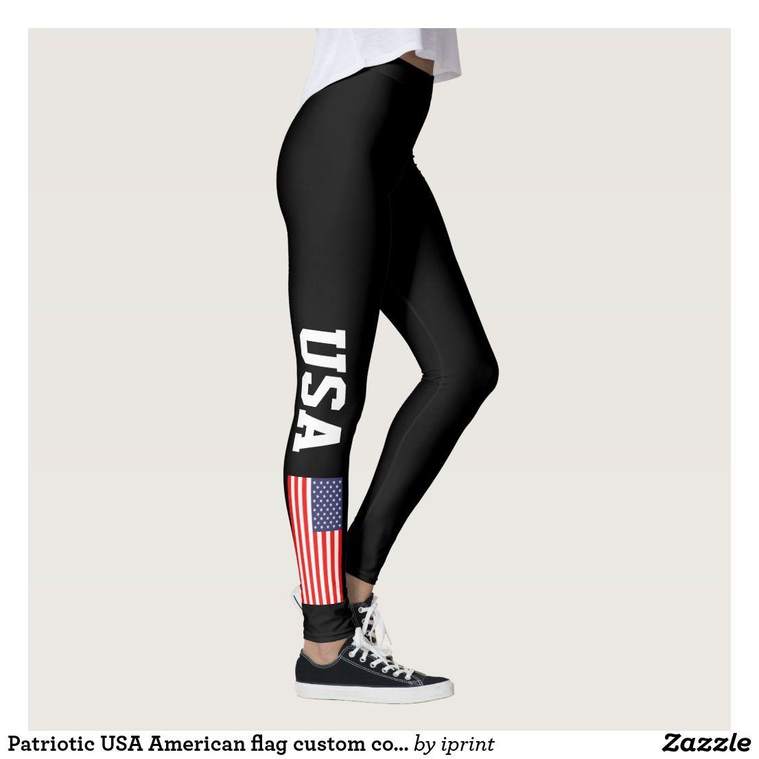 eed7d089503 Polish flag leggings for sport fitness yoga