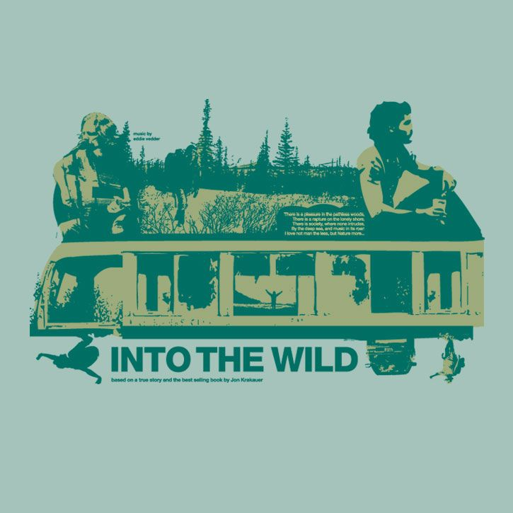 Into the Wild. The director Sean Penn meeting the music of Eddie Vedder