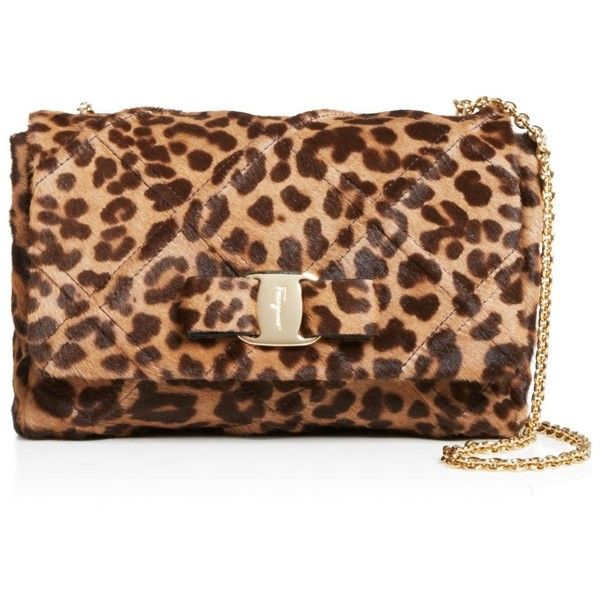 05162698773e Salvatore Ferragamo Vara Soft Leopard Print Mini Bag ( 1