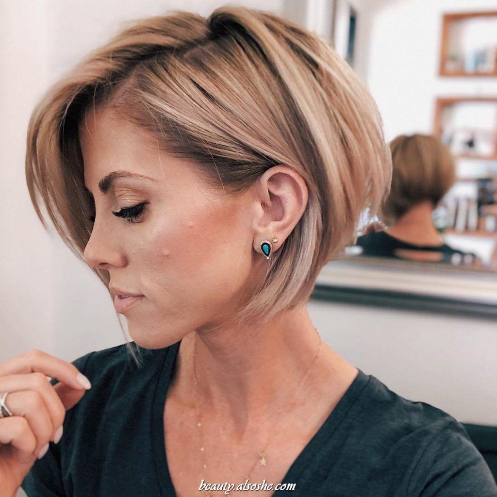 10+ Cute Short Hairstyle Idea for Women in 10 in 10  Cute