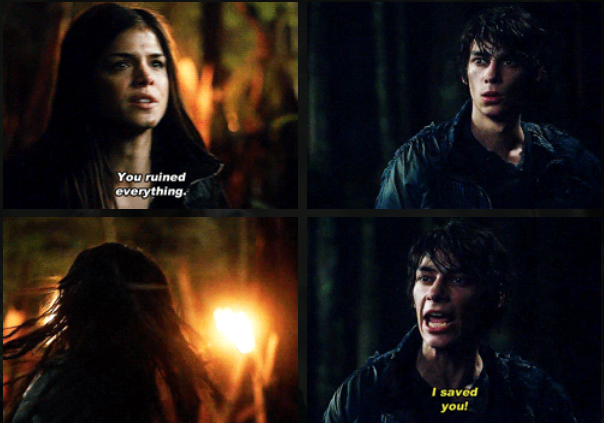 The 100 Jasper & Octavia 1.8 The 100 (TV series) in