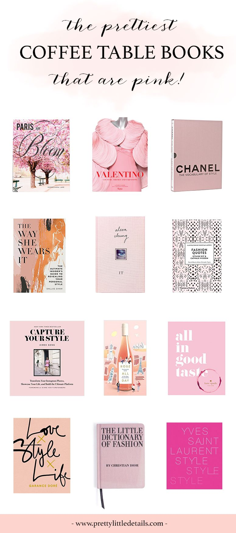 The Best Pink Coffee Table Books Coffee Table Books Coffe Table