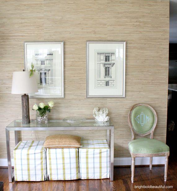 Grasscloth Wallpaper Ideas: Bright Bold And Beautiful Blog