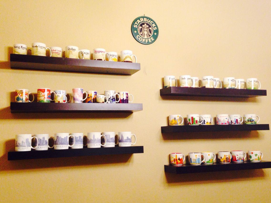 Starbucks Travel Wall | For the Home | Pinterest | Starbucks, Dining ...
