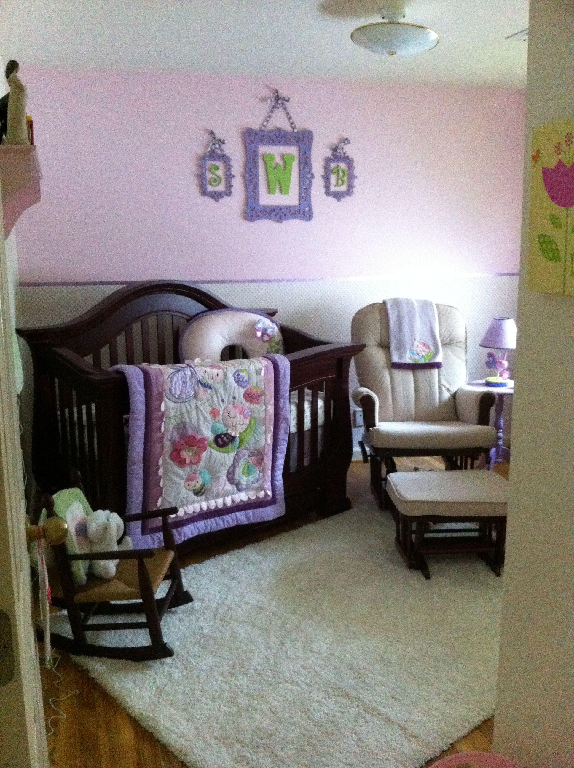 A flutter bug nursery Toddler bed, Baby, Bed