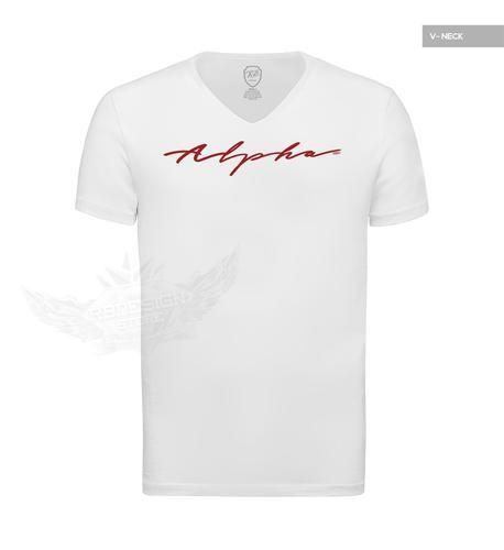5813010e47cb Alpha Male Mens Casual Fashion White T-shirt HQ Stretch Cotton Tee MD885