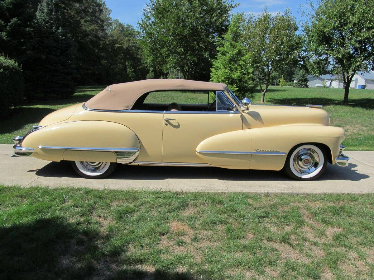 1947 Cadillac 62 Series Convertible for sale #1613876 | Hemmings ...