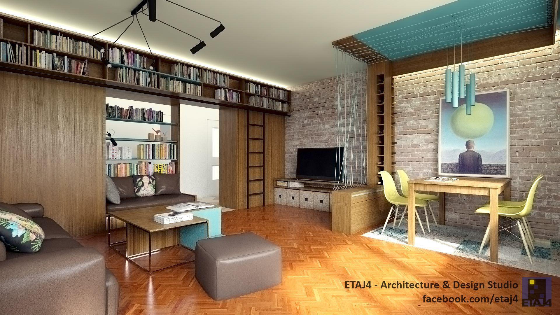 2 Bedroom Apartment Interior Design Interior Design Solution For A 2 Bedroom Apartment In Cluj