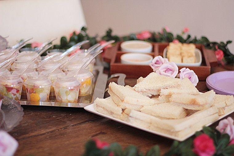 Festa de piquenique- comidas