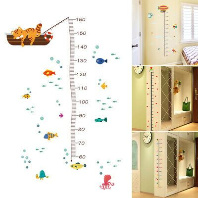 Kids Growth Chart Wall Hanging Height Measure Ruler Child Room Decor Baby Cute (ebay link)