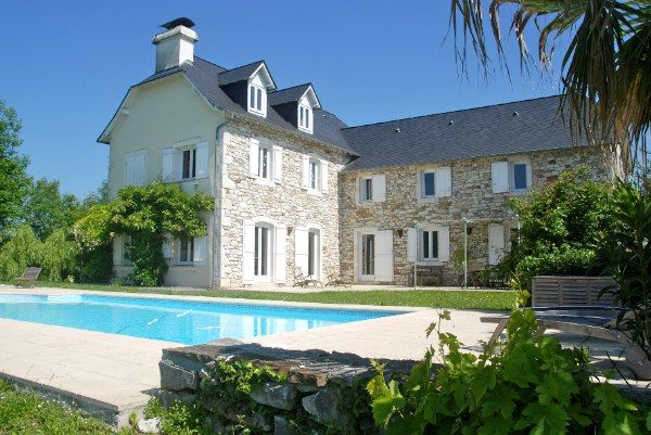 Love This Reconstructed French Stone Farmhouse