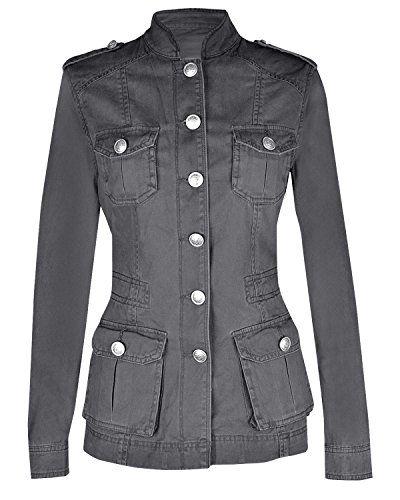 146c881b52f1 Ladies Military Style Summer Jacket (2(UK 6)