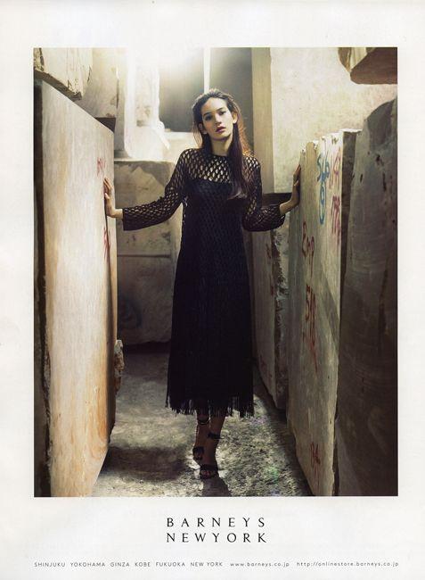 Mona Matsuoka for BARNEYS NEW YORK