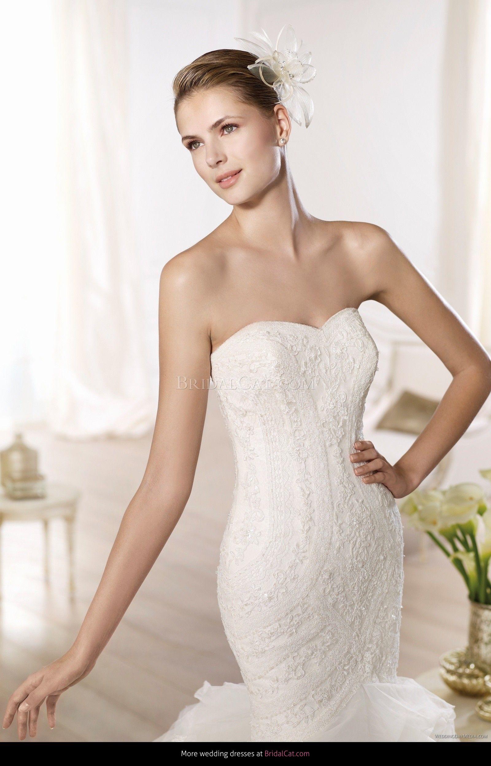 Wedding dress Pronovias Ontina 2014 - AllWeddingDresses.co.uk ...