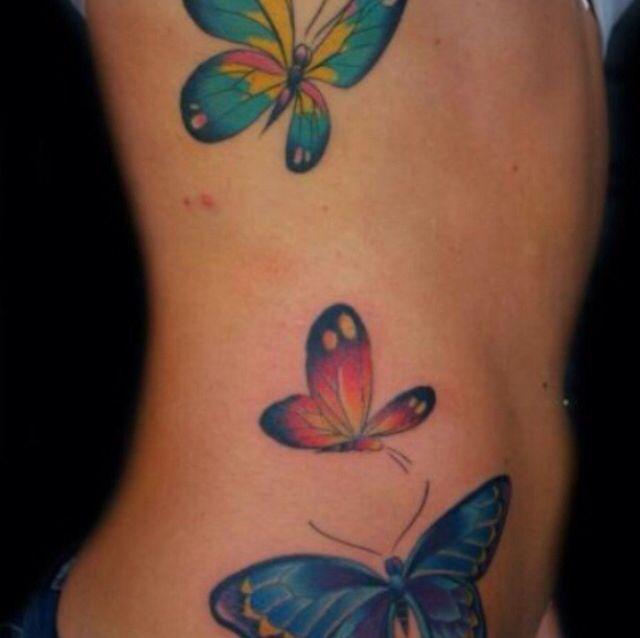 Tatuajes Butterfly Mariposas En Abdomen Butterfly Tattoo Tattoos Tattoos For Daughters