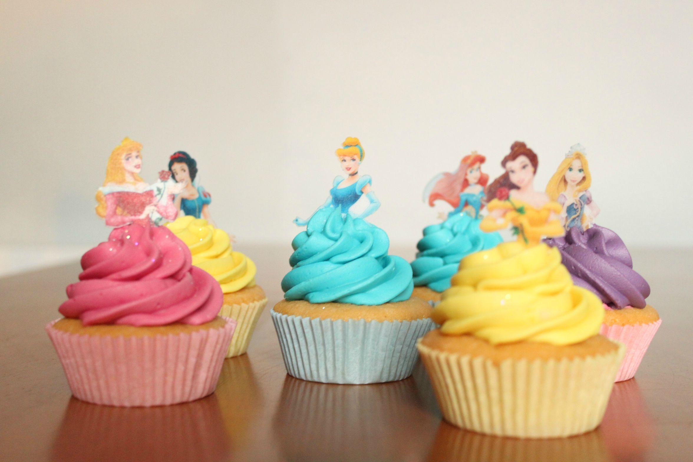 I Made Some Disney Princess Cupcakes Imgur Gallery HOneszp Too Cute