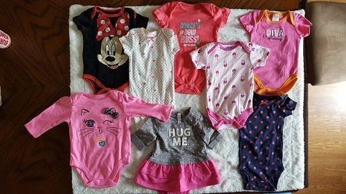 Baby Girl 3-6 Months 9 Piece Clothing Mix of New and Pre-owned Free Shipping #Multiples #Everyday