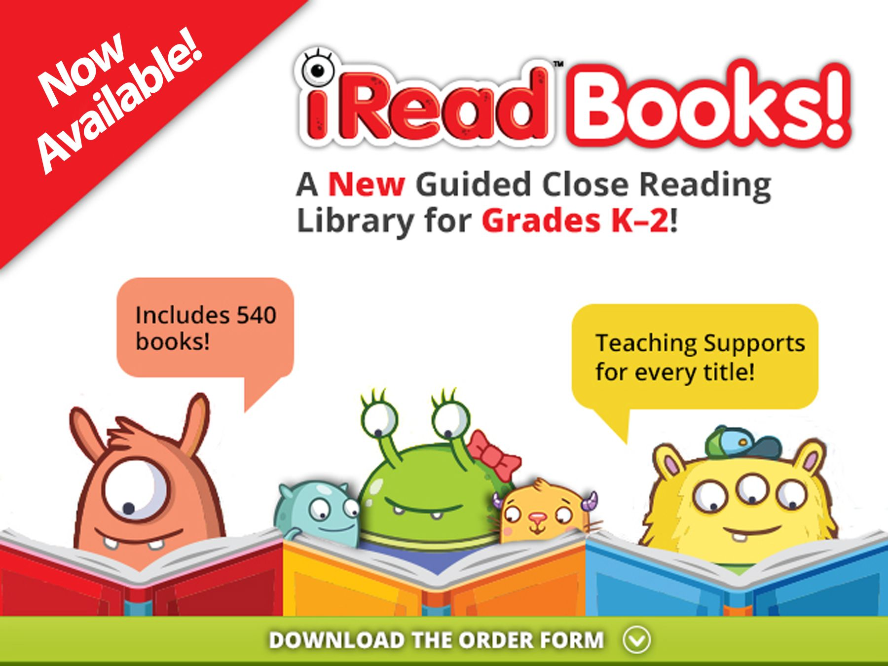 Iread Books A Brand New Guided Close Reading Library From