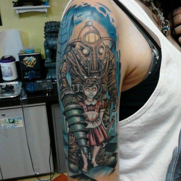#BioShock #BigDaddy #tattoo
