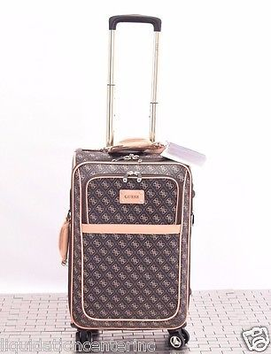 Guess Logo Affair 21 Carry On Spinner Luggage Suitcase Travel ...