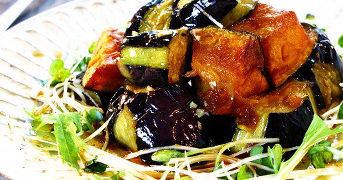 ★2013年8月5日話題入り★ 中華の定番 油淋鶏を素揚げした茄子とかぼちゃに変えました♪暑い夏さっぱり食べられる1品❤