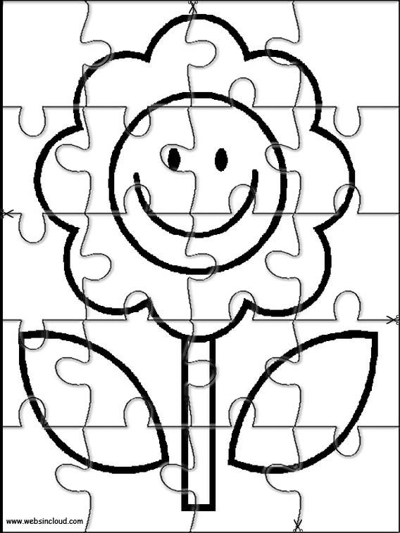 Printable jigsaw puzzles to cut out for kids Nature 59